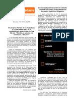 Newsletter Federación BCN C's 2009.02.02 (v. A4)