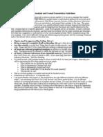 Market Analysis Guidelines, Jan 2013-3