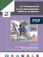 Libro_la Transparencia en Las Universidades