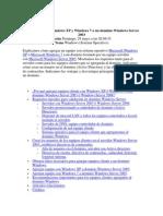 Agregar Equipos Windows XP y Windows 7 a Un Dominio Windows Server 2003