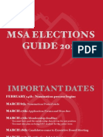 Msa Elections Guide