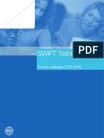 Swift Training Catalog | Foreign Exchange Market | Financial Markets