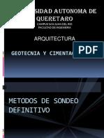 Expocicion de Geotecnia