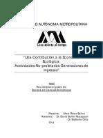 (TESIS) Una Contribuicion a La Economia Ecologica