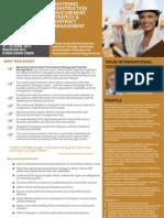 Mastering Construction Procurement Strategy and Contract Management April 2013 Kuala Lumpur & Dubai