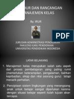 Presentasi Prosedur Dan Rancangan Man Kls