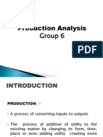 Production Analysis