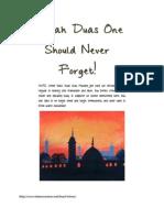 Sunnah Duas One Should Never Forget.pdf