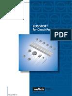 PTC Thermistors POSISTOR for Circuit Protection
