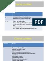 95753514 OBIEE 11g Course Content