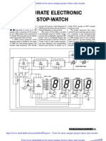 Accurate Electronic Stop Watch