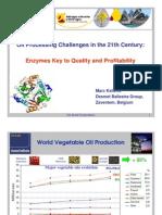 enzymes in oil