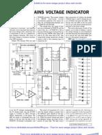 Digital Main Voltage Indicator