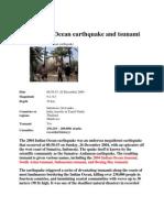 Tsunami Case Study