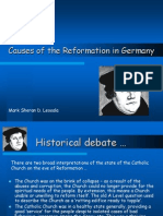 Causes of the Reformation