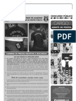 Cespe 2012 Pc Al Agente de Policia Prova