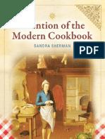 Sandra Sherman Invention of the Modern Cookbook 2010