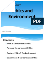 Ethics and Environment