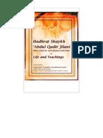 Ghous-e-Azam Hudhrat Shaykh Abdul Qadir al-Jilani [Biography, English]