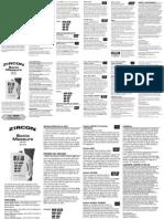 Dm s50l Instructions