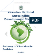 National Sustainable Development Strategy Pakistan- draft.doc