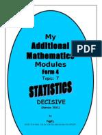Statistics Module Form 4
