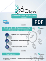 360eyes for SAP BusinessObjects metadata and audit
