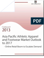 Asia Pacific Atheltic Apparel and Footwear Market Outlook to 2017 - Online Retail Boom to Escalate Demand