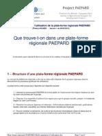 PAEPARD Plate Forme Regionale Mode Operatoire