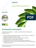 Waste Management Solid Waste Recycle and Collection Services Presentation to Brevard County
