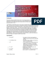 21 Radioactivity and Nuclear Physics
