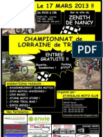 Affiche Trial 2013
