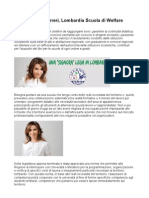 Simona Norreri, Lombardia Scuola di Welfare