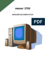 Micros 3700 Mgr Manual