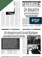 Versión impresa del periódico El mexiquense 22 febrero 2013