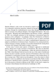 Foundation Modern Philosophy