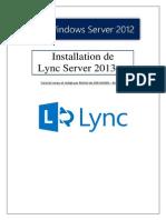 Installation de Lync Server 2013 (tuto de A à Z)