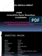 Laporan Kasus Saraf - CKB Jorianditha