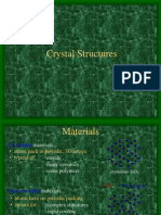 1.0 Crystal Structure