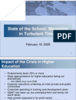 School Update Feb09_TOWNHALL