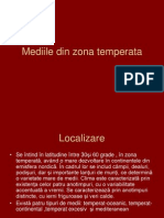 Mediile Temperate