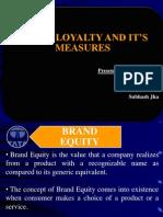 Brand Loyalty Ppt