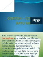 CONTOH – CONTOH BATU METEOR.ppt