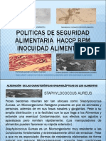 Politicas de Seguridad Alimentaria Bacterias Haccp Bpm Inocuidad Alimentaria Fabioinfante04@Gmail