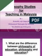 Philosophy Studies