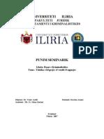 Punim Seminarik- Kriminalsitik (1)