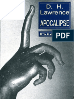 D H Lawrence Apocalipse Hiena Editora 1993