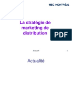 HEC-Montéral Stratégie de Marketing de Distribution