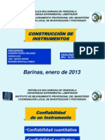 Construcción de Instrumentos de Recolección de Datos e Información