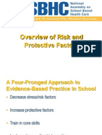 1 Overview of Risk and Protective Factors Presentation NASBHC